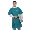 Lead apron (front dressing half sleeve,double sides)