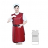 Lead apron (back dressing single side)